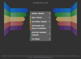 needtrains.com