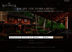 neemranahotels.com
