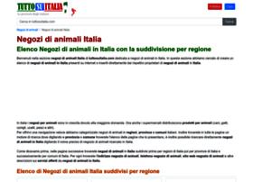 negozi-di-animali.tuttosuitalia.com