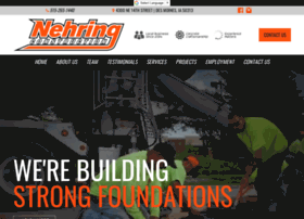 nehringconstruction.com