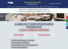 neighborhoodcarpetcleaners.com