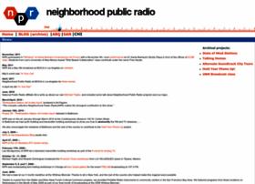 neighborhoodpublicradio.org