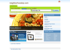 neighborhoodzip.com