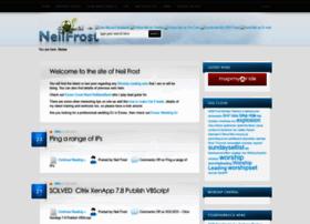 neilfrost.com