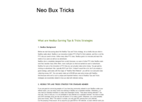 neo-buxtricks.blogspot.in