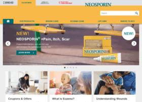 Neosporinfirstaid.com