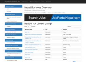 nepalbusinessdirectory.info