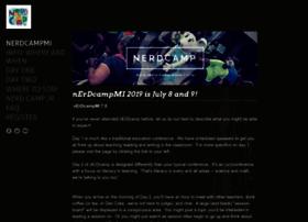 nerdcampmi.weebly.com