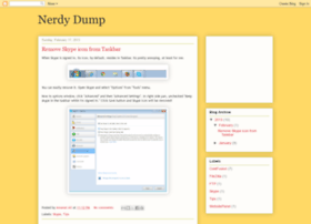 nerdydump.blogspot.com