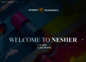 nesherwebdesign.com
