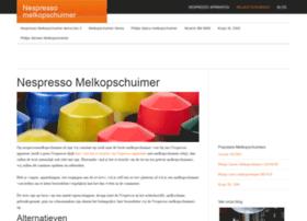 nespressomelkopschuimer.nl