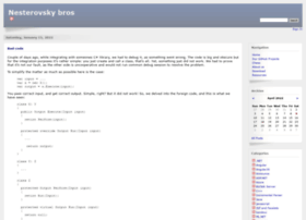 nesterovsky-bros.com
