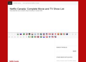 netflixcanadacompletelist.blogspot.ca