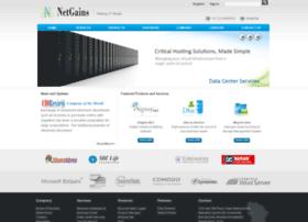 netgainstechnologies.com