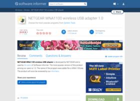 Netgear-wna1100-wireless-usb-adapter.software.informer.com