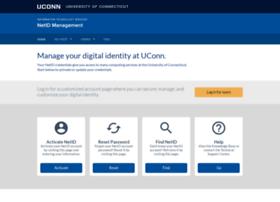 netid.uconn.edu