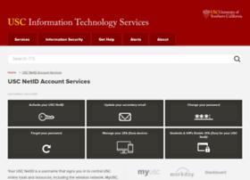 netid.usc.edu