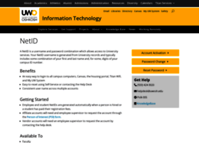 netid.uwosh.edu
