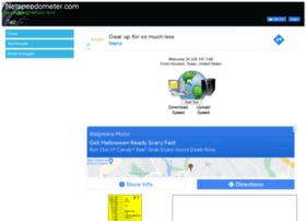 netspeedometer.com