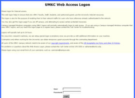nettest.umkc.edu