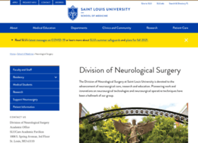 neurosurgery.slu.edu