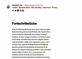 neusprech.org