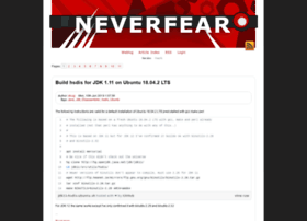 neverfear.us
