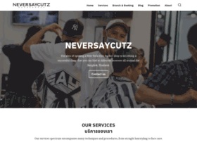 neversaycutzbarber.com