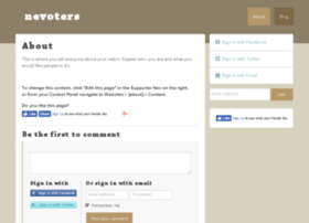 nevoters.nationbuilder.com