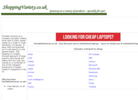 new-refurbished-laptops.shoppingvariety.co.uk