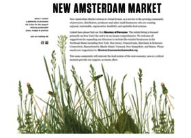 newamsterdammarket.org