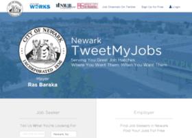 newark.tweetmyjobs.com