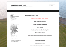 newbiggingolfclub.co.uk