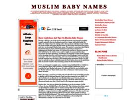 newborn-muslim-baby-names.blogspot.com