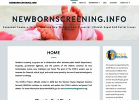 newbornscreening.info