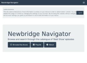 newbridgenavigator.pythonanywhere.com