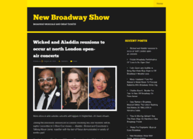 newbroadwayshow.wordpress.com