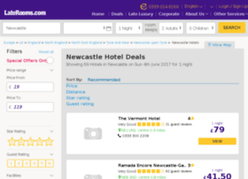 newcastleairport.laterooms.com