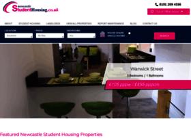 newcastlestudenthousing.co.uk