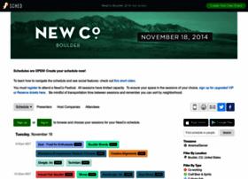 newcoboulder2014.sched.org
