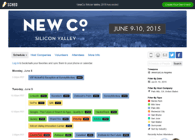 newcosiliconvalley2015.sched.org