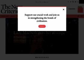newcriterion.com