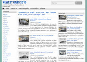 newestcars2016.com