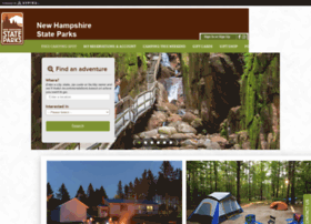 newhampshirestateparks.reserveamerica.com