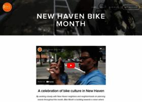 newhavenbikemonth.com