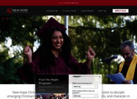 newhope.edu