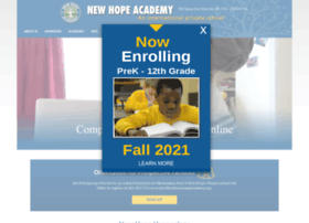 newhopeacademy.org