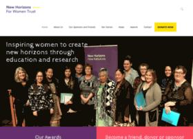 newhorizonsforwomen.org.nz