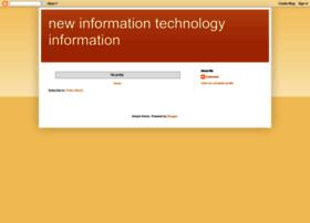 newinformationtechnologyinformation.blogspot.com