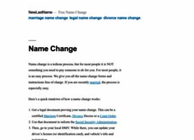 newlastname.org